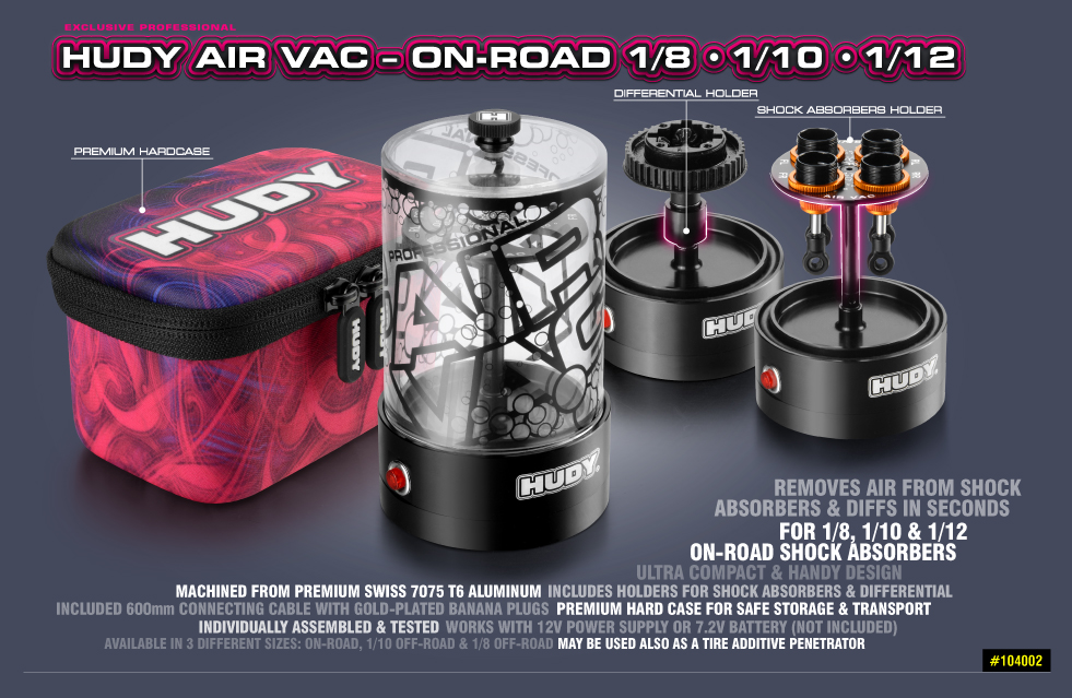 New HUDY Air Vac - Vacuum Pump - On-Road