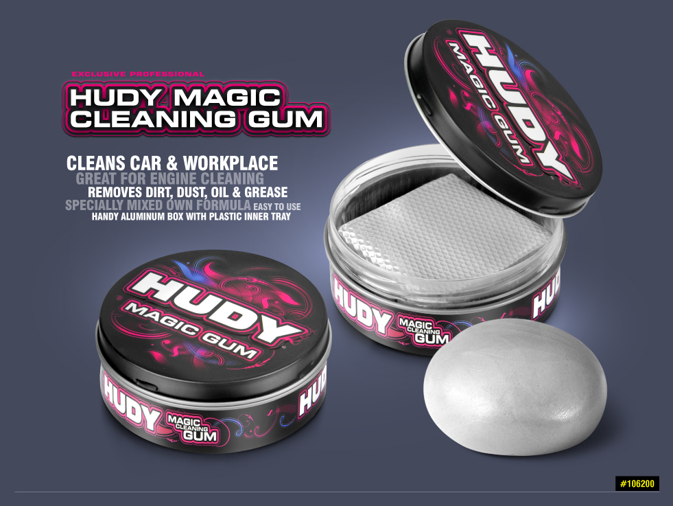 New HUDY Magic Cleaning Gum