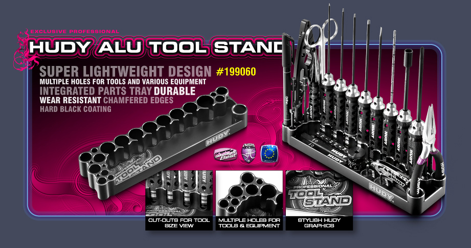New HUDY Alu Tool Stand