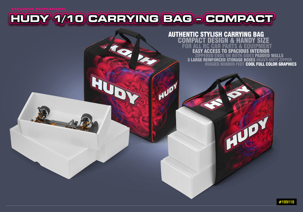 HUDY 1/10 Carrying Bag – Compact