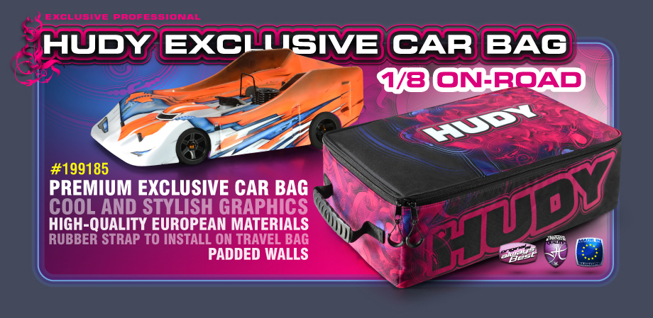 1/8 ON-ROAD Exclusive Car Bag
