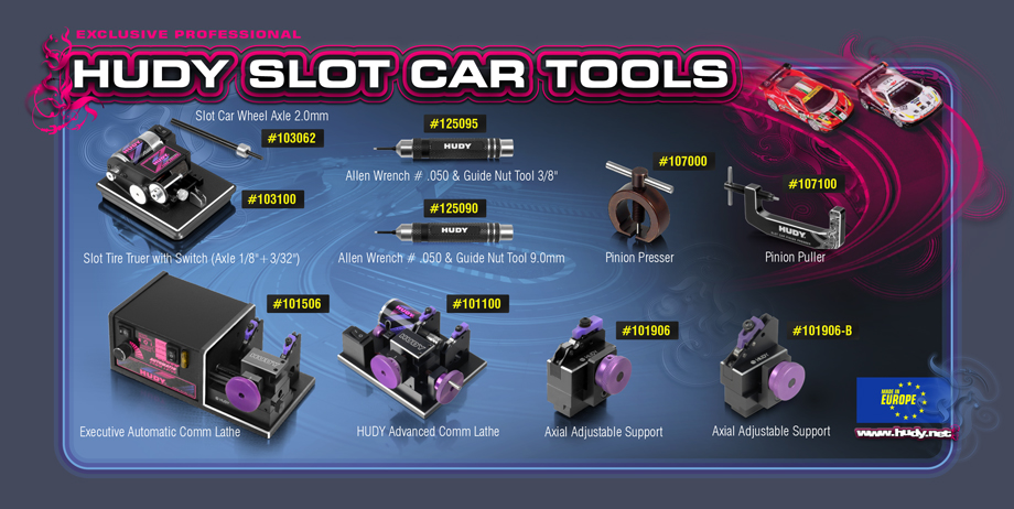 HUDY SLOT CAR TOOLS