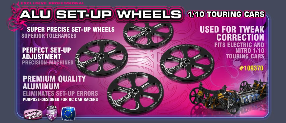 Hudy Alu Set-up Wheels