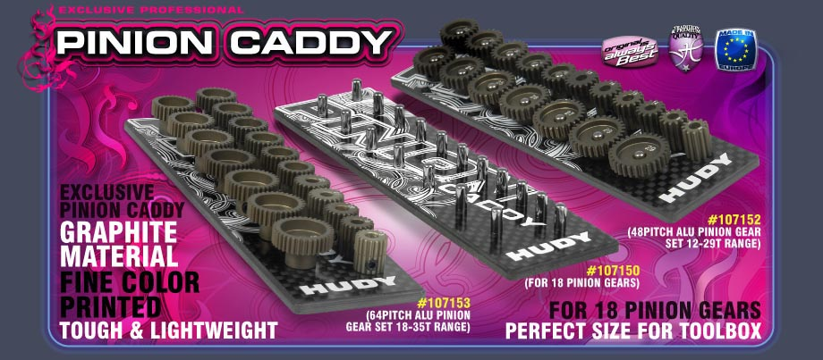 Hudy Pinion Caddy