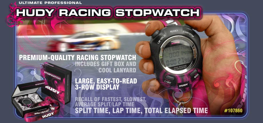 Hudy Racing Stopwatch