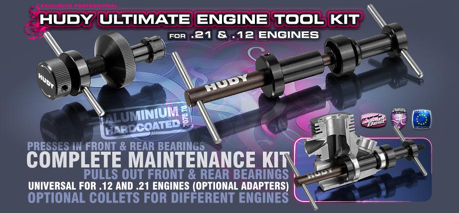 HUDY Ultimate Engine Tool Kit