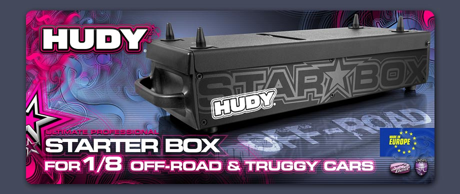Hudy Starter Box for 1/8 Off-Road & Truggy Cars