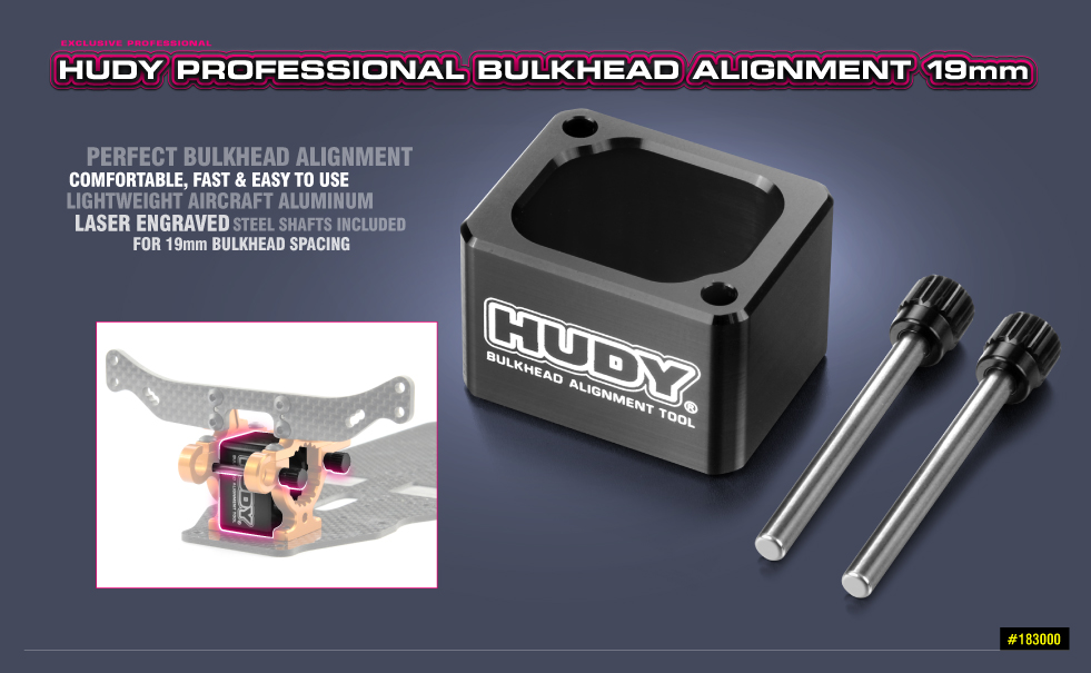 New HUDY Professional Bulkhead Alignment Tool 19mm