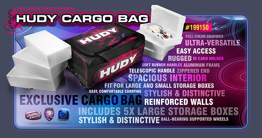 New HUDY Cargo Bag - Exclusive Edt.