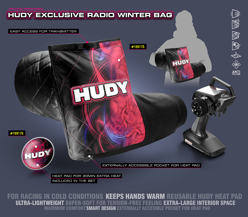 199175 & 199176 HUDY Exclusive Radio Winter Bag