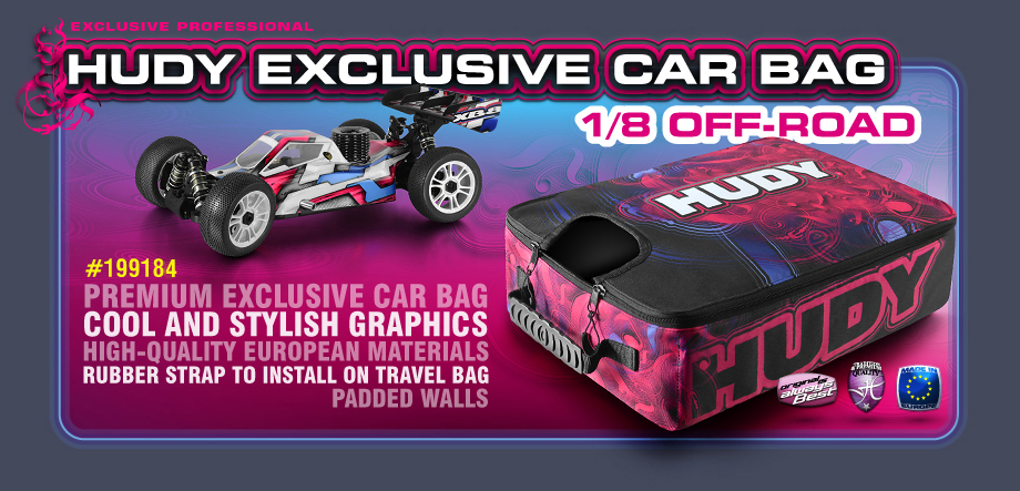 HUDY Car Bag - 1/8 Off-Road