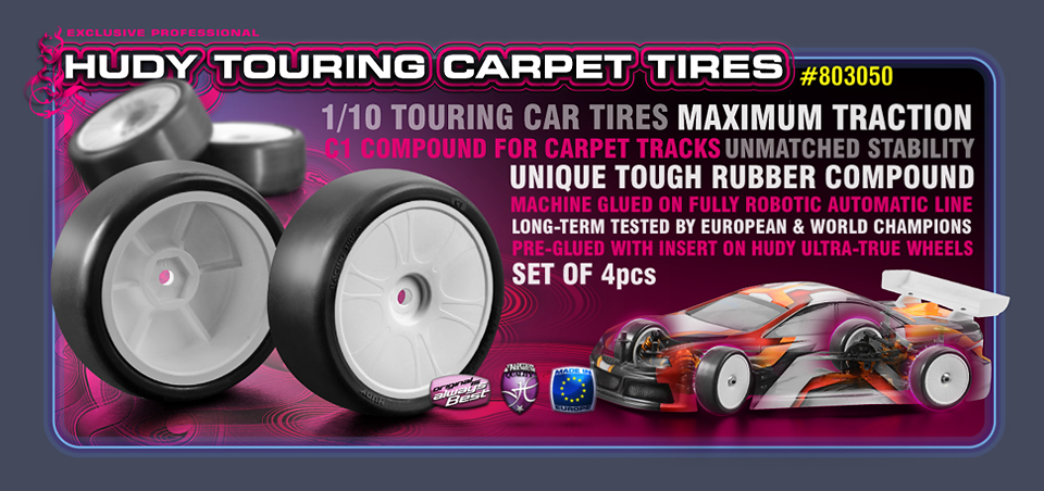 Hudy Carpet Tires
